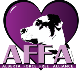 Alberta Force Free Alliance Logo - S